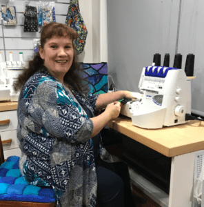 Fiona Pyper with My Sewing Club